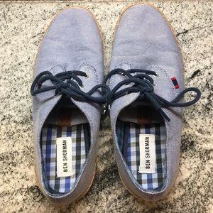 Ben Sherman Lace Up Espadrille Oxford Shoes